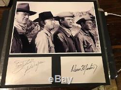 Acteur Authentifié À La Main, Signé John Wayne, Authentifié