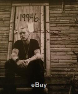 Affiche Signée À La Main Par Eminem Slim Shady Lithographie Mmlp2 2013 287/500