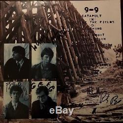 Album De Disques De Murmure R. E. M Autographié, Lp, Signé À La Main Par Tous Les 4 Rem, Rare