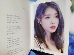Album Signé / Photo Iu Chat Shire Love Poème Lee Jieun Hand Autograph