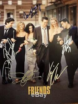 Amis Cast Autographs Tv Télévision-signée À La Main Comedy Show Six Signatures