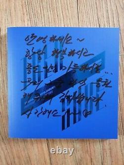 Ateez Treasure Promo Album Autographié Main Signée