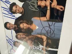 Authentique Autographié Photo 8x10 Amis Tv Show Cast Imprimer Matted Signée À La Main