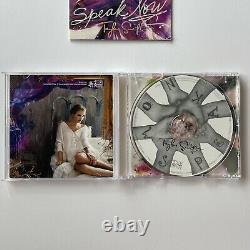 Autographe Signé À La Main Taylor Swift Speak Maintenant Livret Signé Avec CD