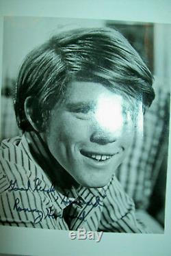 Autographes Originaux De La Main Signée Du Casting Complet De The Andy Griffith Show