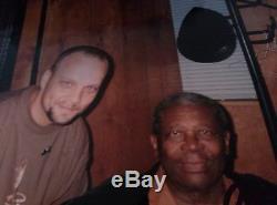 B. B. King Autographié Encadrée Lp Signée À La Main Enregistrez Album Par Bb King B B King