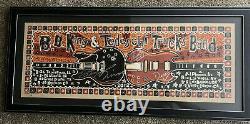 B.b. King - Tedeschi Trucks Band Hand Signed 36x14 Framed Poster Autographed
