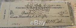 Babe Ruth Signé Entièrement Autographié Et Authentifié, Signé Par Psa Dna