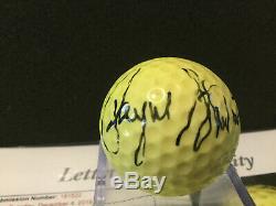 Balle De Golf Autographiée Par Payne Stewart, Jsa Loa, Coa, Auto Signée À La Main