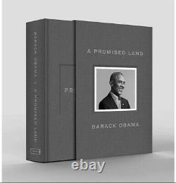 Barack Obama A Signé Une Copie Autographiée D'un Livre Foncier Promis Deluxe À La Main