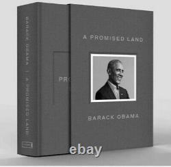 Barack Obama A Signé Une Promesse Land Deluxe 1ère Édition Autographiée À La Main