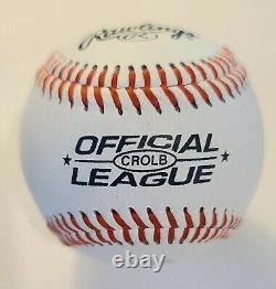 Barack Obama Signé À La Main, Rawlings Baseball Autographié Avec Coa, Menthe