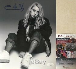 Billie Eilish Signée À La Main Autographié Photo 8x10 Jsa Coa When We All Fall Asleep