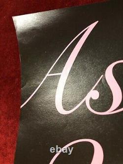 Blackpink Dédicacé Comme Si C'était Votre Dernière Affiche Promotionnelle Signée À La Main