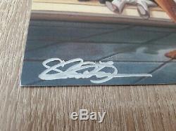 Bruce Lee Lithographie / Autographe Autogramm / Signé À La Main Par Shannon Lee