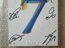 Bts Bangtan Boys Carte Promo De La Main Autographiée Signée