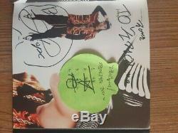 Bts Bangtan Boys Fan Signe 1er Événement Mini Album Autographié Signée À La Main