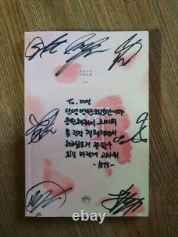 Bts Bangtan Boys Hyyh Album Promo Autographié Main Signé Message