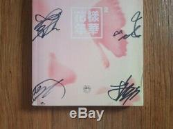 Bts Bangtan Boys Hyyh Album Promo Autographié Signée À La Main