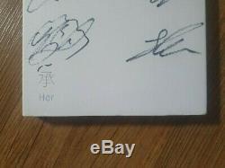 Bts Bangtan Boys Love Yourself Son Album Autographié Signée À La Main