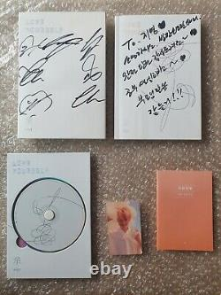 Bts Bangtan Boys Love Yourself Son Album Promo Autographed Hand Signé