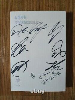 Bts Bangtan Boys Love Yourself Son Album Promo Autographié Main Signée