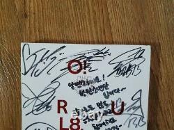 Bts Bangtan Boys O Rul8 2 1er Mini Album Promo Autographié Main Signée