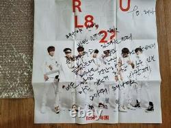 Bts Bangtan Boys O Rul8 2 Promo Album Événement Autographié Signé À La Main
