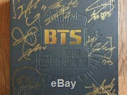 Bts Bangtan Boys Promo 2 Cool 4 Skool Album Autographié Signée À La Main
