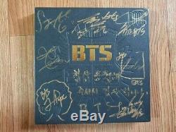 Bts Bangtan Boys Promo 2 Cool 4 Skool Album Autographié Signée À La Main Type A