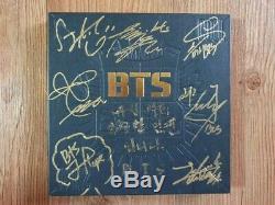 Bts Bangtan Boys Promo 2 Cool 4 Skool Album Autographié Signée À La Main Type B