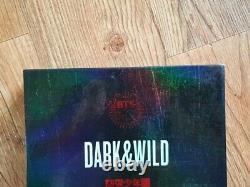 Bts Bangtan Boys Promo Dark & Wild Danger Album Autographié Main Signée