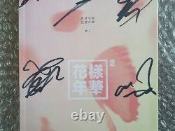 Bts Bangtan Boys Promo Hyyh Album Autographié Main Signée