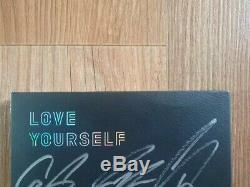 Bts Bangtan Boys Promo Love Yourself Tear Album Autographié Signée À La Main