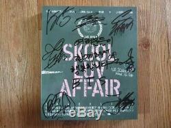 Bts Bangtan Boys Promo Skool Luv Affair Album Autographié Signée À La Main