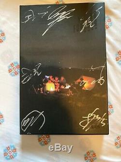 Bts Bangtan Boys Promo Young Forever Album Autographié Signée À La Main