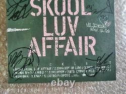 Bts Bangtan Boys Skool Luv Affair Promo Album Signé À La Main