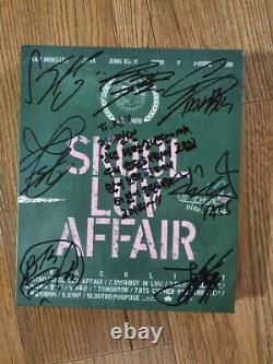 Bts Bangtan Boys Skool Promo Affair Album Autographié Main Signée Type B