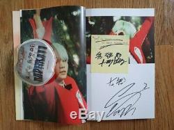 Bts Fan Meeting Hyyh Album Autographié Signée À La Main Message Photocard Gribouillage