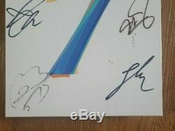 Bts Promo Carte De L'âme Album Autographié Signée À La Main Type A