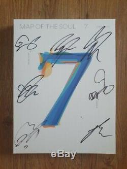 Bts Promo Carte De L'âme Album Autographié Signée À La Main Type C
