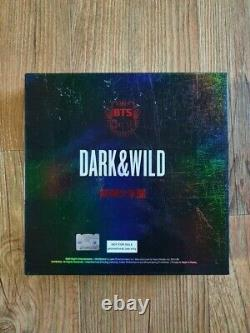Bts Promo Dark & danger Sauvage Album Autographié Signée À La Main