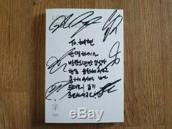 Bts Promo Love Yourself Son Album Autographié Signée À La Main Message Type A