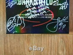 Bts Promo Promo Dark & danger Album Autographié Main Sauvage Signed Type De Message B