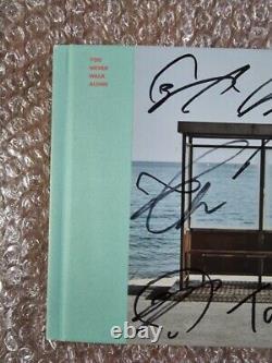 Bts Promo Vous Naver Walk Alone Album Autographié Signé À La Main