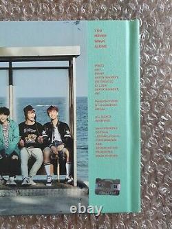 Bts Promo You Naver Walk Alone Album Autographié Main Signée