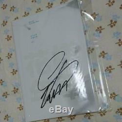 Bts Suga Hand Signed Pas De Photo Carte Fan Club Army Fc Japan Autograph Pt.