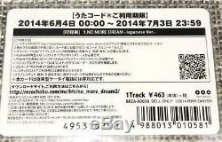 Bts V Signé À La Main Officiel Pony Canyon Aucun Dream Music Photo Card Autograph