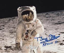 Buzz Aldrin Apollo 11 Lune Walker - Lunaire Eva - Signé A La Main 8x10 Photo Nasa W-loa