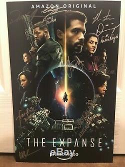CCDD 2019 Autographe Signé Dans La Main Signée Comic Con Expanse